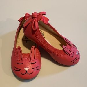 GAP shoes - Adorable Bunny Ballet Flats - 5C